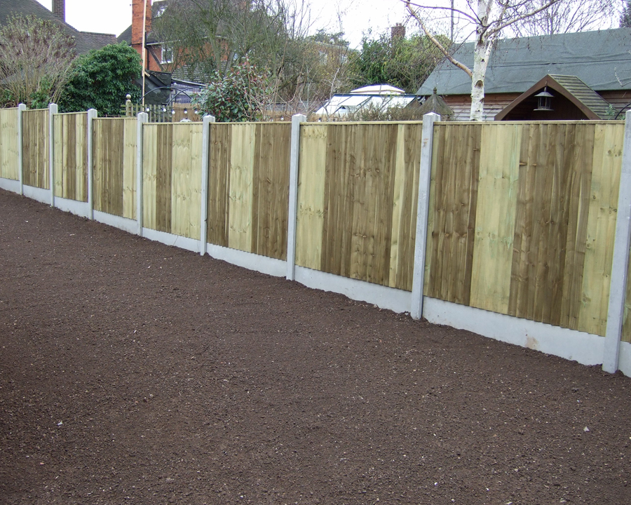 Painting Gravel Boards Smooth Finish Gravel Boards